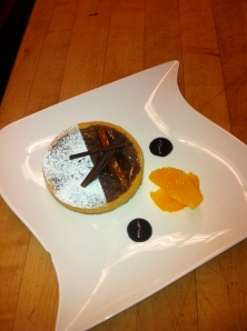 bittersweet orange tartlet